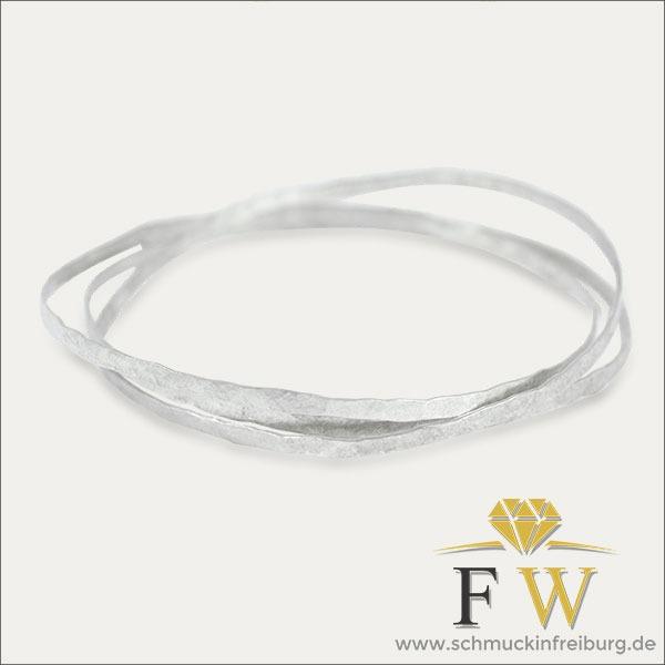armreif bracelet silber silver schmuck handmade handarbeit goldschmiede freiburg