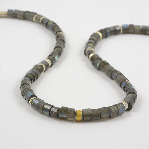 labradorit kette necklace silver finegold feingold silber schmuck handarbeit handmade