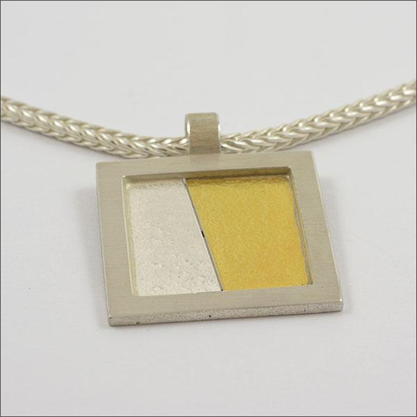 anhänger pendant silber silver feingold finegold handmade handarbeit schmuck goldschmied