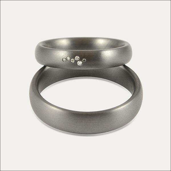 tantal trauringe ringe ring schmuck handmade handarbeit brillant goldschmied freiburg