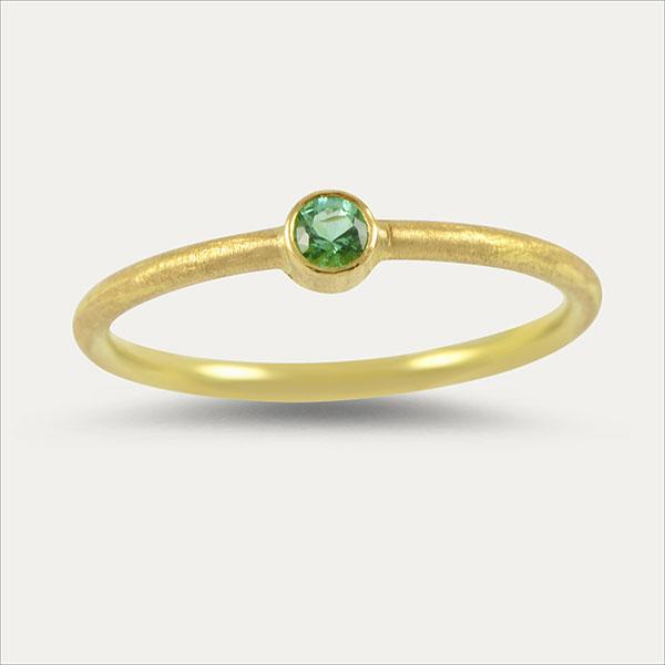 smaragd emerald ring grün green gold handmade handarbeit schmuck