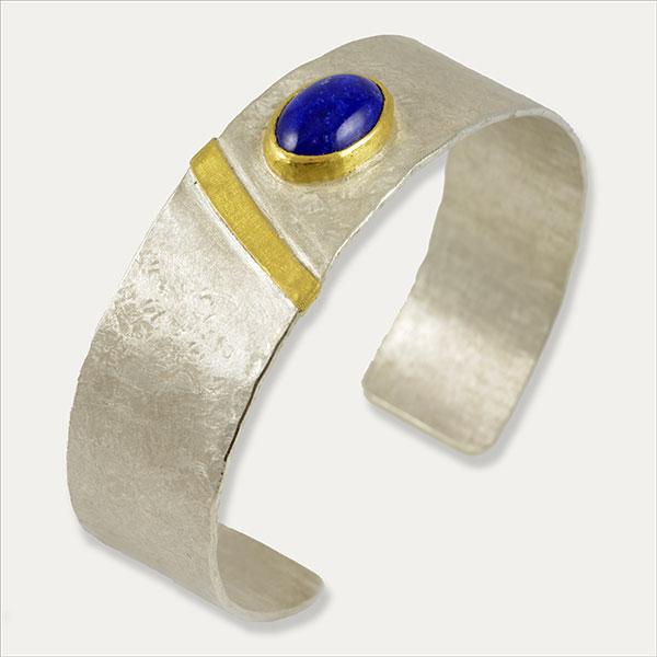 Lapislazuli Armband pulsera bangle Armreif