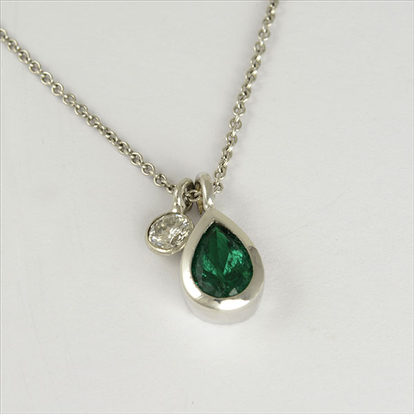 Smaragd emerald Brillant brilliant diamond diamant anhänger pendant gold pendentif colgante esmeralda