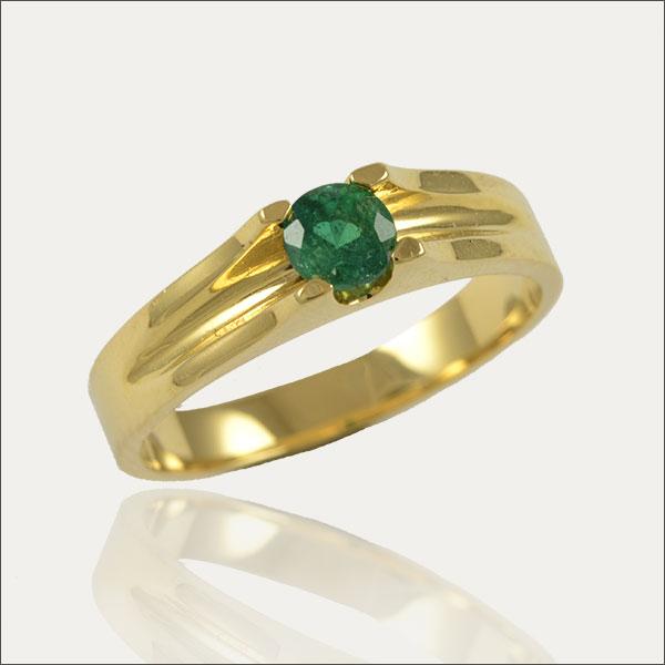smaragdring emerald ring green grün gold schmuck handmade handarbeit goldschmiede freiburg exclusive