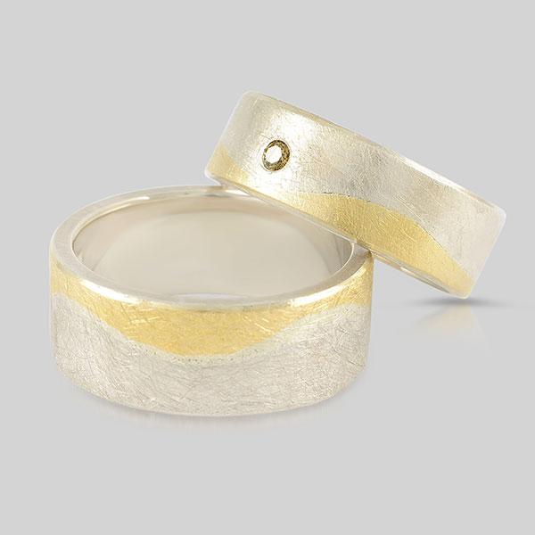 Silber Gold Brillant